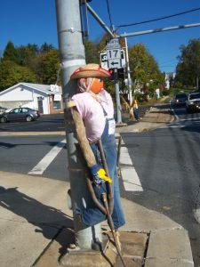 Sponsor a scarecrow