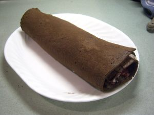 The finished roll