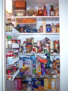 My messy pantry