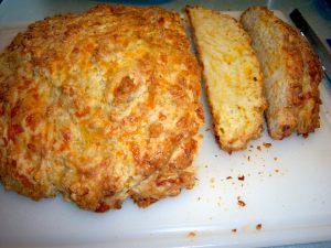 Cheese soda bread