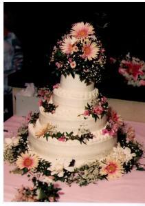 Our wedding cake