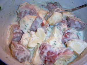 buttermilk potato