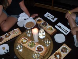 Food at Sanafir